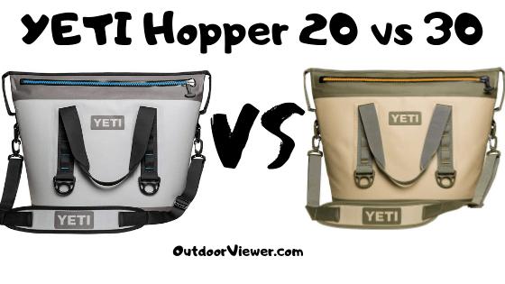 YETI Hopper 20 vs 30