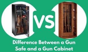 Difference Between a Gun Safe and a Gun Cabinet