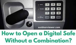 How to Open a Digital Safe Without a Combination