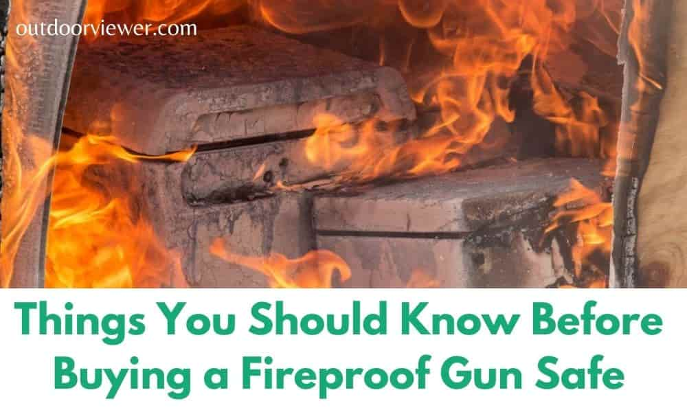 Should Know Before Buying a Fireproof Gun Safe